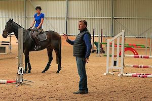 Nick Turner FBHS eventing clinics are held on a monthly basis